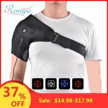 Электрический нагрев плечевая скобка Корректор осанки бурсит растяжение суставов облегчение боли медицинская поддержка обертывание тела Защита спины