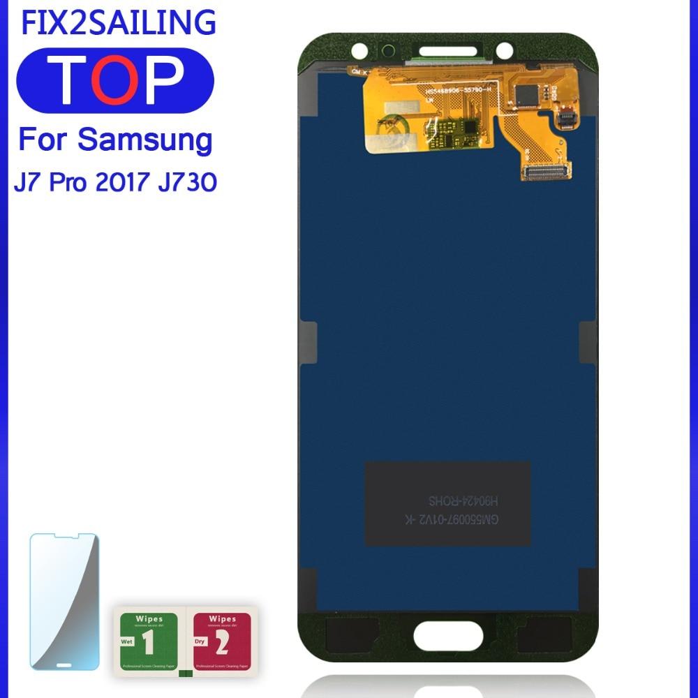 Hcb020dccdb6c4afbad3d7406b2d0ba8c5 5.5'' Display for SAMSUNG Galaxy J7 Pro J730 LCD For SAMSUNG J7 2017 Display Touch Screen Digitizer J730F Adjustable