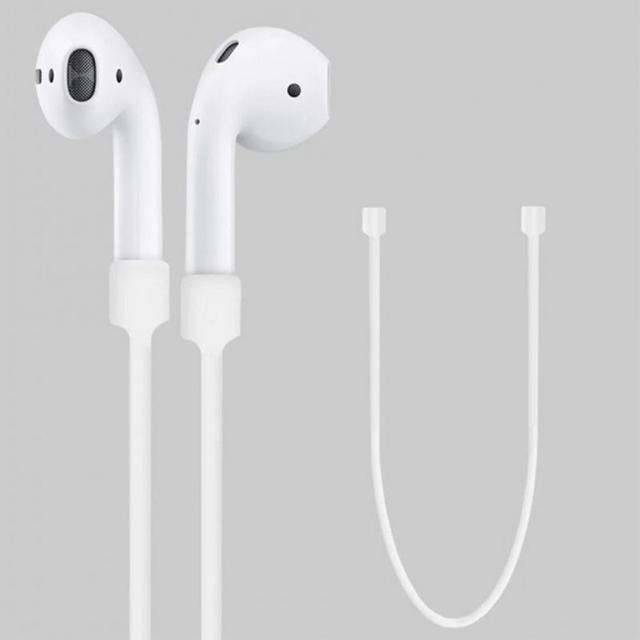Silicone Anti-lost Neck Strap Wireless Earphone String Rope for Apple AirPods Earphone Accessories Portable Audio & Video 5