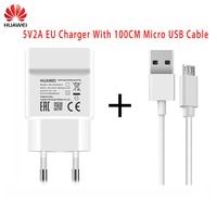 Original Huawei 5V 2A EU/UNS Adapter Wand Ladegerät Typ C Kabel für Nova 3i 2i Ehre 8x 7c P6 P7 P8 P9 P10 Lite Mate 7 8 9 10 S Y6