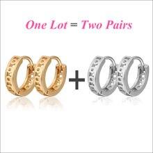 Серьги кольца e1581 для детей ювелирные украшения в африканском