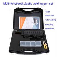 Professional Car Bumper Repair Machine Hot Stapler Plastic Repair System Automobile Garage Welding Repair Tool Kit Set with Case
