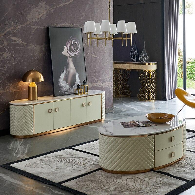 Coffee Table Basse De Salon стол журнальный столик Escritorio Mesa De Centro Mesa Desk Ikea Catan Muebles De Madera + TV STAND