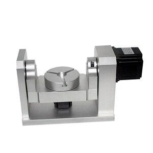 Image 4 - DIY CNC 4th 5th רוטרי ציר חלוקת ראש 50:1 הרמוני מפחית הרמוני Gearbox עבור CNC נתב CNC חרט