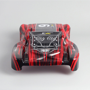 Image 2 - RC Auto Kunststoff PVC Körper Shell für 1/10 RC Short Course Truck REMO Huanqi HQ727 Traxxas Slash 4 × 4 rustler VKAR V1 V2 PRO