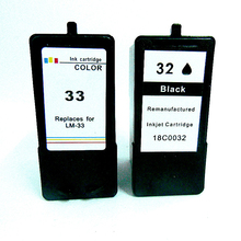 vilaxh for Lexmark 32 33 Ink Cartridge Compatible For P4350 P6250 P6350 P915 X3330 X3350 printer