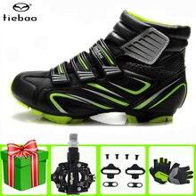 Tiebao обувь для велоспорта sapatilha ciclismo mtb Зимние мужские