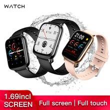 2020 Wellermoz Waterproof IP68 UM68 Heart Rate Monitor Blood Pressure Oxyge Band 1.69 Inch Big Screen Bluetooth Call Smart Watch