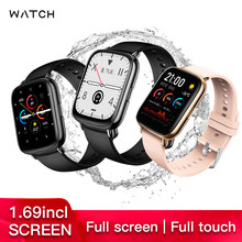 2020 Wellermoz Waterproof IP68 UM68 Heart Rate Monitor Blood Pressure Oxyge Band 1.69 Inch Big Screen Bluetooth Call Smart Watch