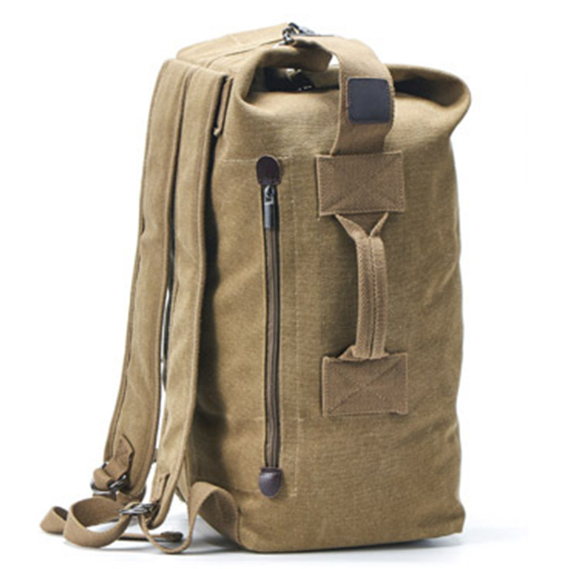 Rucksack Man Travel Pack Backpack Mountaineering Outdoor Hiking Luggage Canvas Bucket Shoulder Sport Bags Men Backpacks For Male