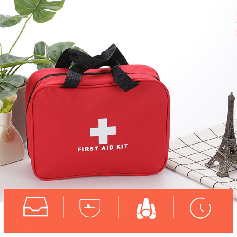 Portable Waterproof Empty First Aid Kit Bag Emergency Medical Box First Medicine Rescue Storage Bag For Travel Camping Home Car