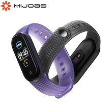 For Mi Band 5 4 3 Strap Silicone Correa Pulseira Pasek Opaska Do for Miband 5 Bracelet for Xiaomi Xiomi My Bend Belt Wristbands