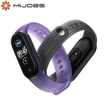 Voor Mi Band 5 4 3 Band Siliconen Correa Pulseira Pasek Opaska Doen Voor Miband 5 Armband Voor Xiaomi Xiomi mijn Bocht Riem Polsbandjes