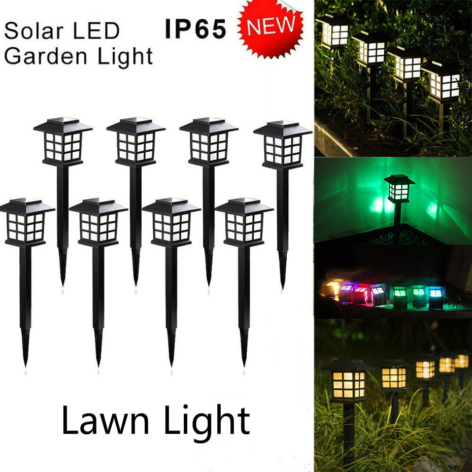Led Solar Pathway Lights Outdoor Waterproof Solar Garden Lawn Lamps For Garden Landscape Path Yard Patio Walkway Lawn Lights