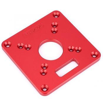 Ławka Router płytka stołowa ze stopu aluminium 6061 anodowe utlenianie grawerowanie routera stół płyta routera tanie i dobre opinie Fdit