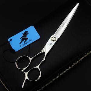 Image 2 - Hot 7.0 Cal śruba łożyska pet fryzjerskie nożyczki ścinanie włosów ścinanie fryzjer Scissor wyposażenie salonu narzędzie nożyczki fryzjerskie