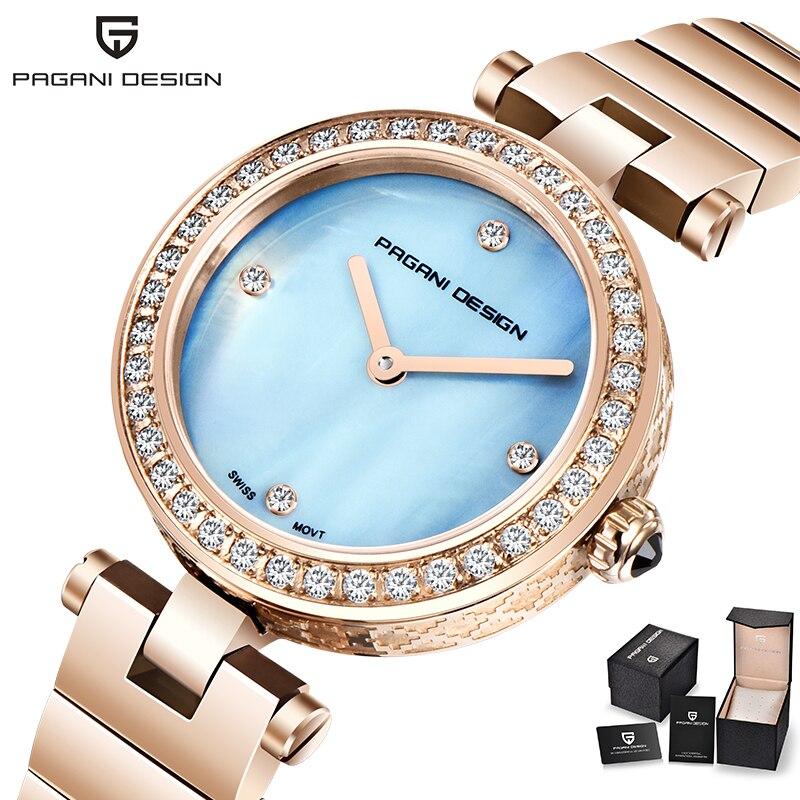 女性の腕時計 2019 新しいパトップブランドの高級クォーツスポーツレディース腕時計ドレス防水ファッション時計時計レロジオ Feminino  グループ上の 腕時計 からの レディース腕時計 の中 1