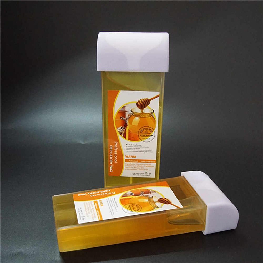 100G Ontharingshars Cartridge Ontharingscrème Bijenwas 4 Smaak Apple Lavendel Melk Kamille Smaak Wax Voor Ontharen Hot