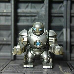 Iron Man Monger Lash Andrew Garner Hulkbuster FIght Strong Mode IVAN VANKO Whiplash Cable Super Heroes Blocks Toys Mini Figure(China)