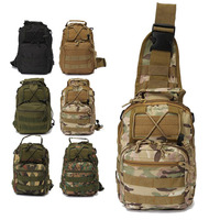 Outdoor Shoulder Military Bag Molle Backpack Army Camping Hiking Travel Trekking Bag Hiking Fishing Hunting Backpack Daypack|Climbing Bags| |  -