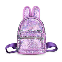 Cartoon Girls backpack sequins  Kids primary school student Boys and Girls Backpack bag for school handbag outdoor backpack