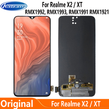 Supor Amoled For Oppo Realme X2 RMX1992 RMX1993 RMX1991 LCD Display Screen Touch Digitizer for Oppo Realme XT RMX1921 LCD Glass