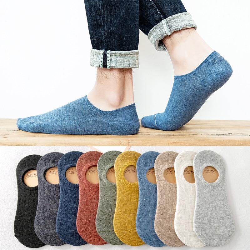 Fc18-socks cotton boat socks silicone anti slip and sweat absorbing shallow sports socks summer invisible socks men ankle socks