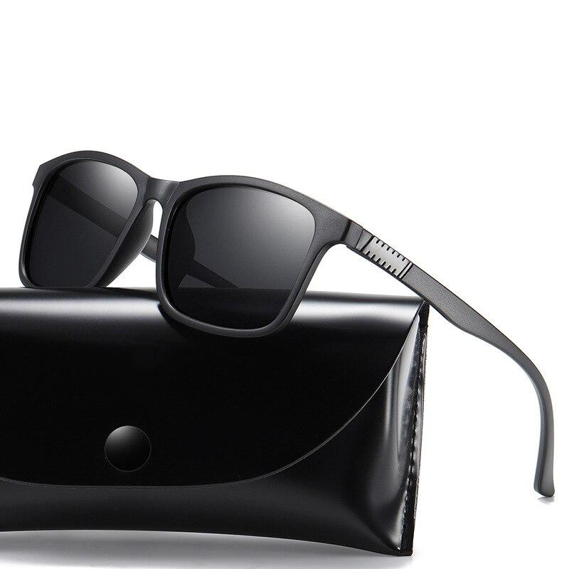 Мужские солнцезащитные очки с поляризацией, винтажные брендовые дизайнерские очки в стиле ретро, для вождения, UV400, 2020