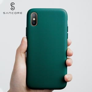 Image 3 - SanCore für iPhone X Xs Max Telefon Fall Leder Mode cellphoneFull schutz NAPPA Business Premium Shell Luxus Rindsleder Mann