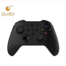 GuliKit NS08 bezprzewodowy Gamepad Bluetooth Kingkong kontroler do gier do przełączania PC TV Box z androidem Raspberry PI 3B 4B Gaming Jaypad