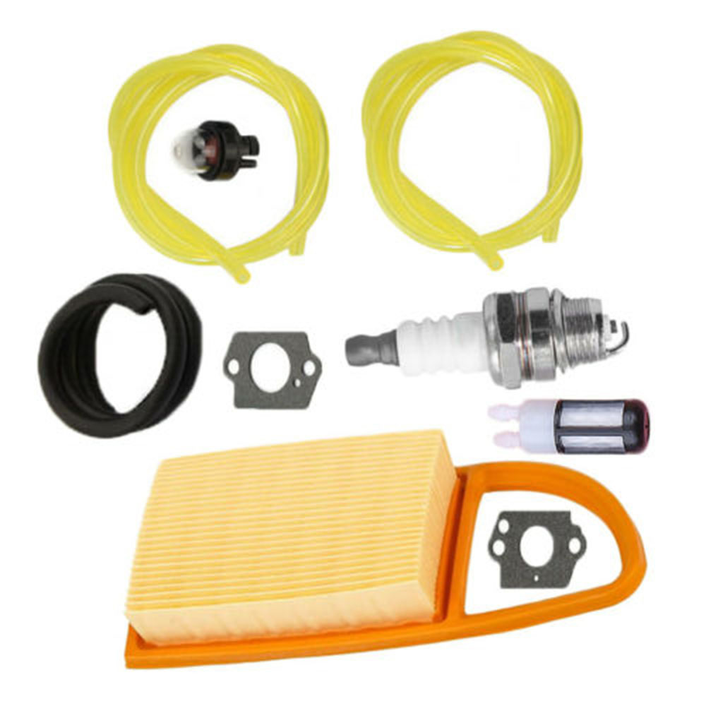 Detachable Air Fuel Filter Oil Line Hose Primer Bulb Kit For Stihl BR500 BR550 BR600 Leaf Blower Replacement Parts