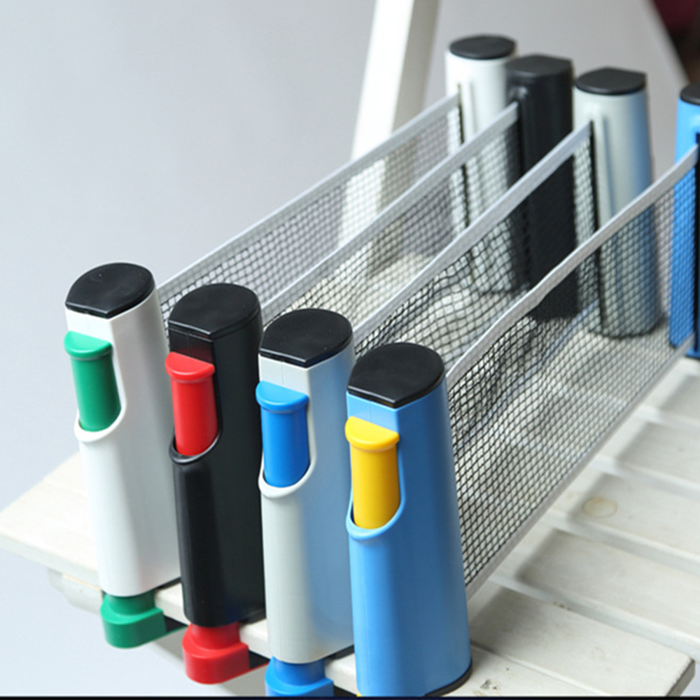 Non Slip Table Tennis Net Replacement With Stand Firm Clamp One-Piece Retractable Sport Supplies Grid Gym Portable Universal