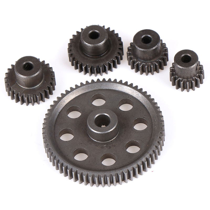 HSP 1, 10 11184 Steel Metal Spur Different Main Gear 64T/21T/29T/17T/26T Motor Pinion Gears