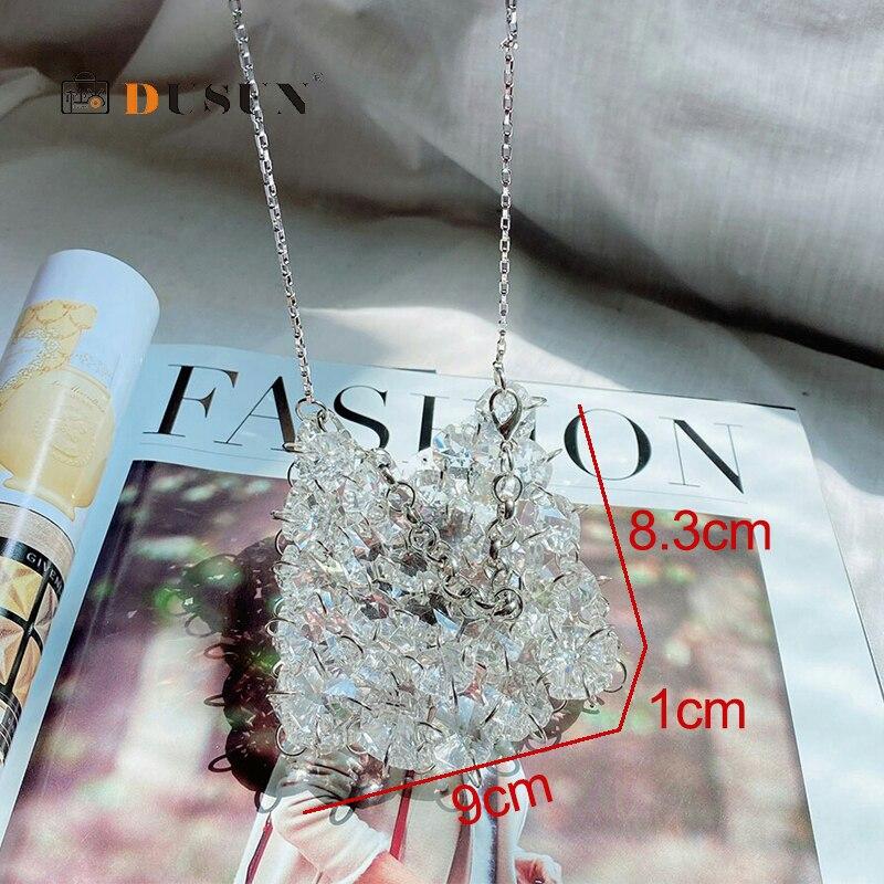 Купить женская мини сумка через плечо элегантная плетеная сумочка из
