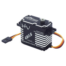 BLS-HV7146MG JX Waterproof Servo 46KG Brushless Standard Full CNC Digital Steel Gear for RC Car Truck Crawler Helicopter Robot