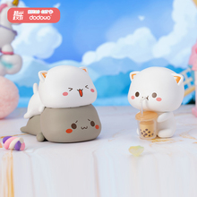 Blind box peach cat 2nd generation let love first series desktop decoration cartoon hand-made design doll gift genuine