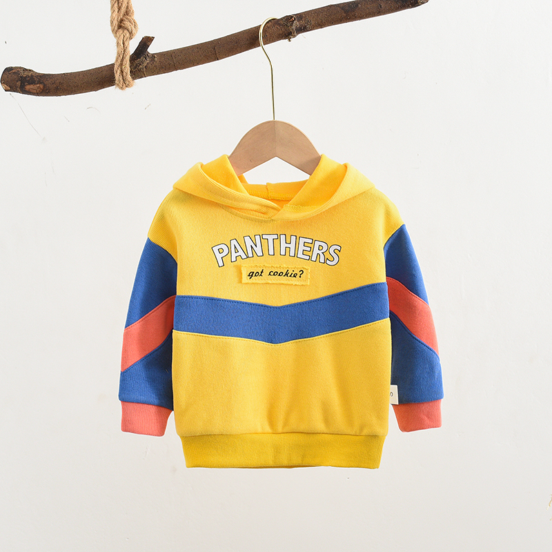 Boys Sweatshirts Hoodies Children Toddler Baby-Girls Outerwear Autumn Letter Spring Long-Sleeve