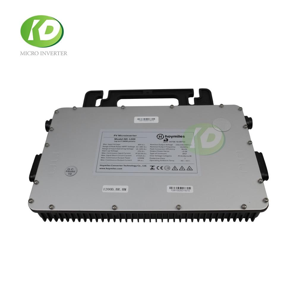 Hoymiles MI-1200 1200W MPPT Micro ...