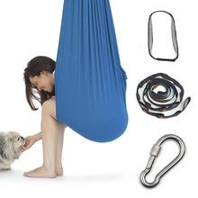 Yoga Hammock Seat-Swing Adult Kids Elastic Soft Ce Parcel Aerial Steady Durable