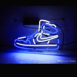 Publicidad neon Coors lekki sport buta lampa neonowa prawdziwe szkło lampa dla domu sypialnia Pub Hotel plaża rekreacyjna gra pokój D w Oświetlenie reklamowe od Lampy i oświetlenie na