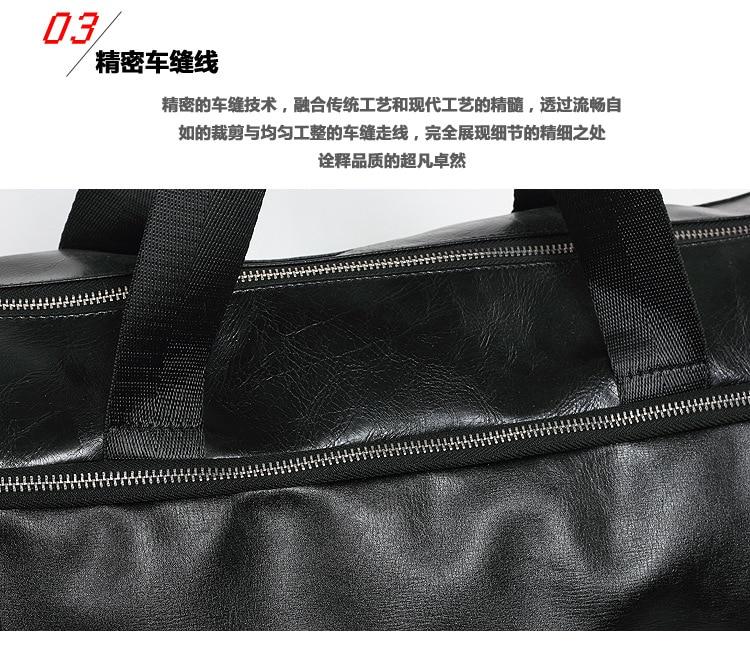 Único ombro bolsa de viagem saco de