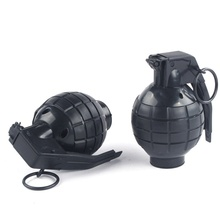 Children's Tactical Water Bomb Model Electric Military Model Simulation Sound Effects Sound and Light Props Cosplay Dress Up grenade props ammo game bomb launcher blast replica military military black simulation hand gags pranks toy kids gifts