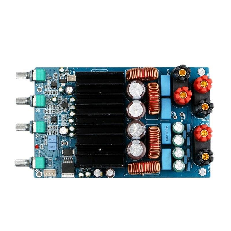 Tas5630 High Power 2.1 Class D Audio Digital Amplifier 4Ohm 300W+150W+150W Tone Adjust Amplifier Board|Operational Amplifier Chips| |  - title=