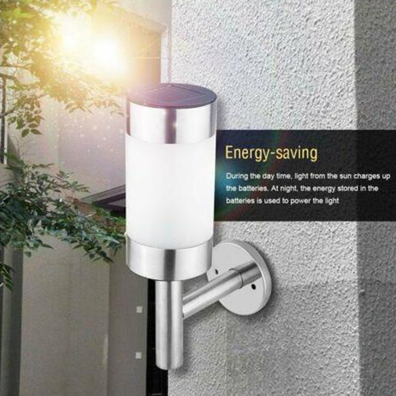 2pcs/lot Solar Light Garden Decoration Stair Motion Sensor Powered Outdoor Waterproof LED Sunlight Power Yard Motion Pathway