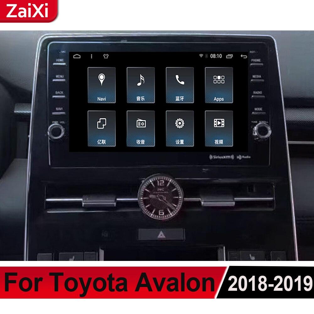 ZaiXi For Toyota Avalon XX50 2018~2019 Android Car Multimedia Player GPS Audio Radio Stereo  Original Style Navigation NAVI BT