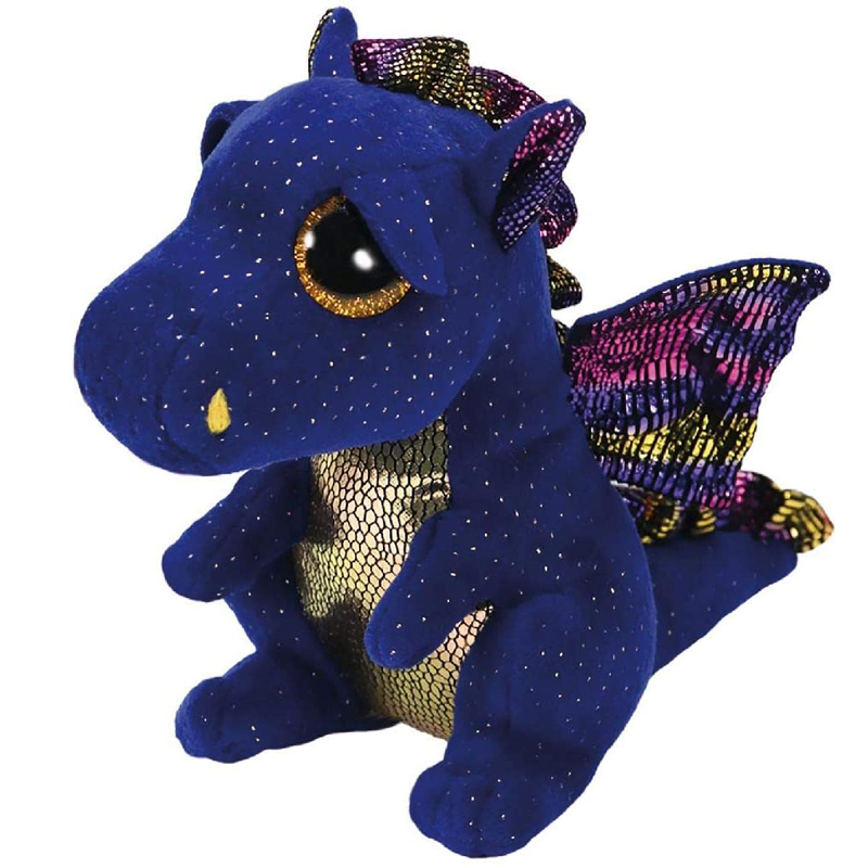 Ty Saffire The Dragon Plush Animal Toys Stuffed Doll Gift 15cm
