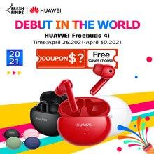 Estreia global huawei freebuds 4i 4 i sem fio fone de ouvido ativo redução chamada bluetooth 5.2 fones de longa vida da bateria