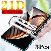 Pellicola protettiva per schermo anteriore in Silicone TPU 21D per Google Pixel 5 4a 4 XL 3XL 4a 2XL 4a 5G pellicola protettiva completa senza vetro