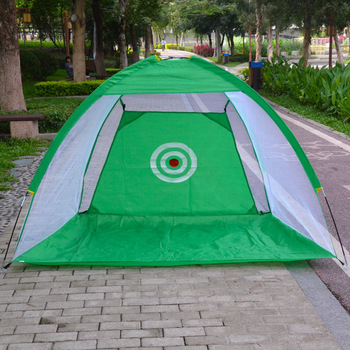 Indoor Outdoor Foldable Golf Practice Net Hitting Cage Garden Meadow Practice Tent 1m / 2m