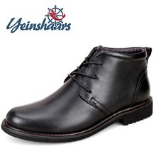Genuine Leather Cowboy Botas New Male Comfortable Casual Shoes Business Formal Boots Lace-up Dress Boots Zapatos Vestir Hombre(China)